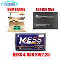 OBDII ECU Tuning Kits KESS V2 Master V2.30 HW V4.036 No Tokens Limited FGTECH V54 Galletto 4 Add BDM Frame Express Shipping