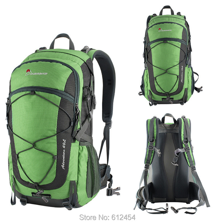 Aliexpress.com : Buy 40L Mountaintop Mountain Bag Hiking Backpack ...