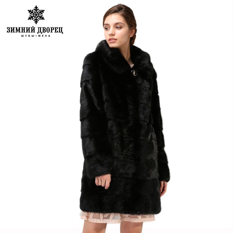 Gratuite De Vison La ManteauManteau Nouveaux Modèles Longue Black Mode NoirNaturel VisonDans Section Livraison Fourrure v8nm0Nw