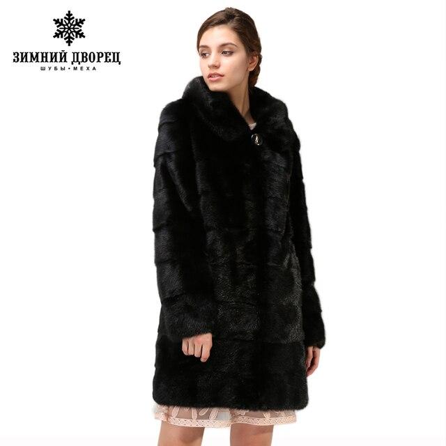 official photos 1abf0 01c7c Nuovi modelli di modo visone cappotto pelliccia, pelliccia nero, naturale,  nella sezione lunga trasporto libero