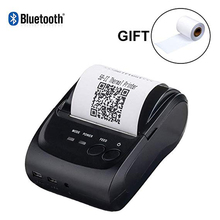 купить Issyzonepos Thermal Printer Bluetooth Android Printer 58mm Receipt Mini Printer For iOS Warehouse Retail Store Free SDK Loyverse по цене 2157.8 рублей
