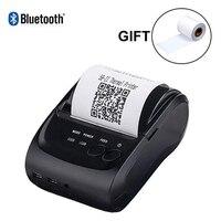 Issyzonepos Thermal Printer Bluetooth Android Printer 58mm Receipt Mini Printer For iOS Warehouse Retail Store Free SDK Loyverse