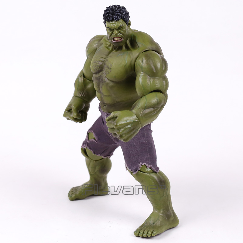 Marvel The Avengers Hulk Super Hero PVC Action Figure Collectible Model Toy 25cm чехол для iphone 6 глянцевый printio летом цыганка пьер огюст ренуар