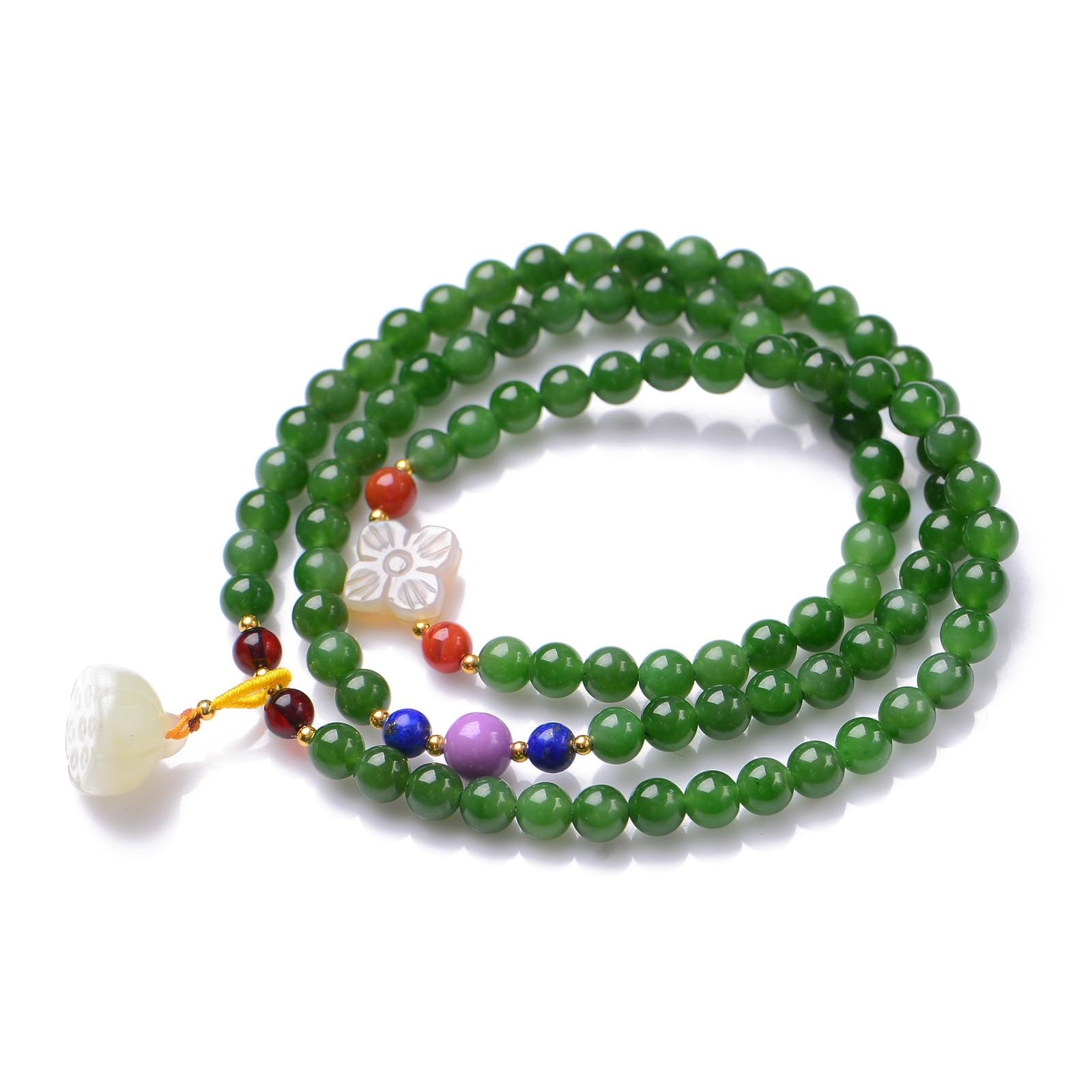 Здесь продается  Handmade Authentic Green Crystal Bracelets 5.8mm  Ювелирные изделия и часы