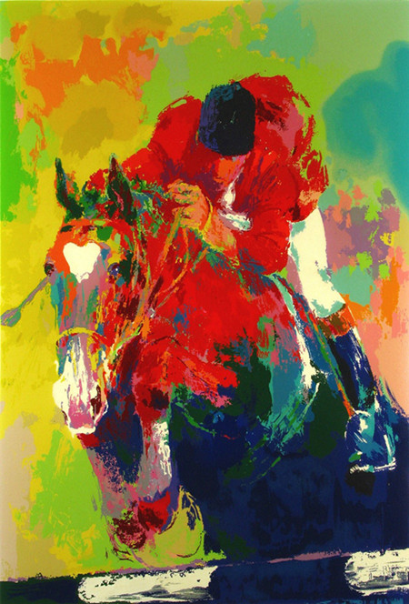 free shipping impression figure riding a horse man canvas prints oil painting printed on canvas home wall decoration picture