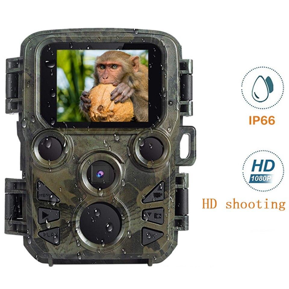 Mini Hunting Camera Wildlife Scouting 12MP 1080P Trail Photo Trap Game Camera Waterproof Nihgt Vision Video