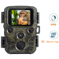 Mini Hunting Camera Wildlife Scouting 12MP 1080P Trail Photo Trap Game Camera Waterproof Nihgt Vision Video Recorder Wild Camera