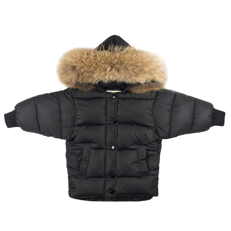CROAL CHERIE Real Fur Outerwear & Coats Winter Jacket For Girls Boys Children Winter Clothing Outerwear Coat Toddler Clothes   (3)