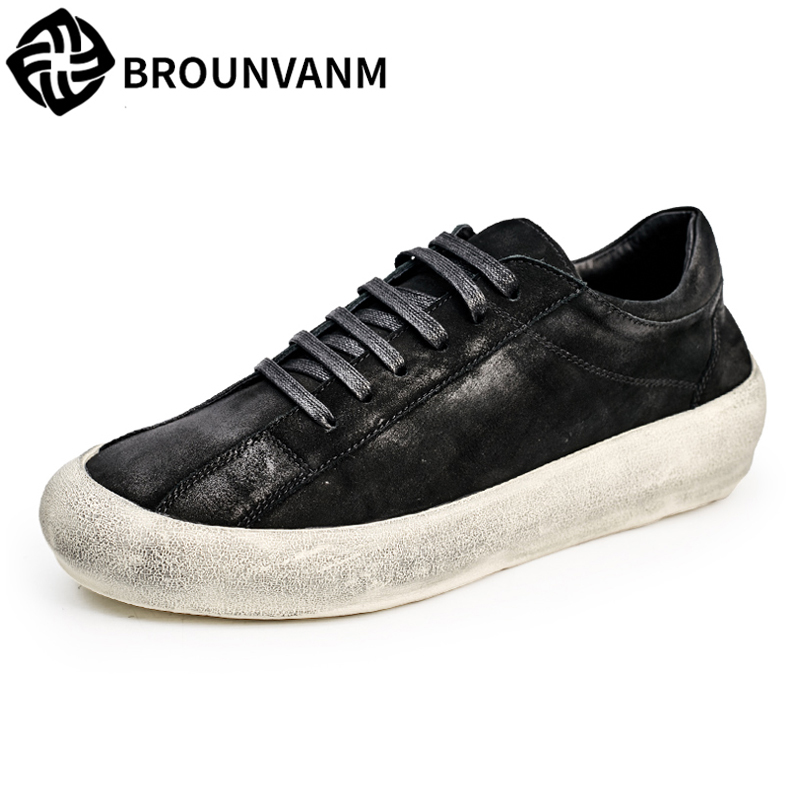 Men's casual shoes street spring and autumn summer all-match cowhide breathable sneaker men Leisure Genuine Leather shoes male genuine leather men s leisure shoes spring summer all match cowhide soft bottom breathable sneaker fashion men casual shoes male