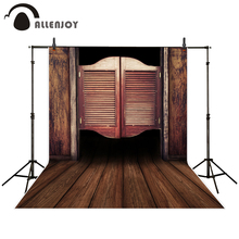 Allenjoy photography backdrop old western swinging bar doors cowboy background  sc 1 st  AliExpress.com & Buy swinging door bar and get free shipping on AliExpress.com