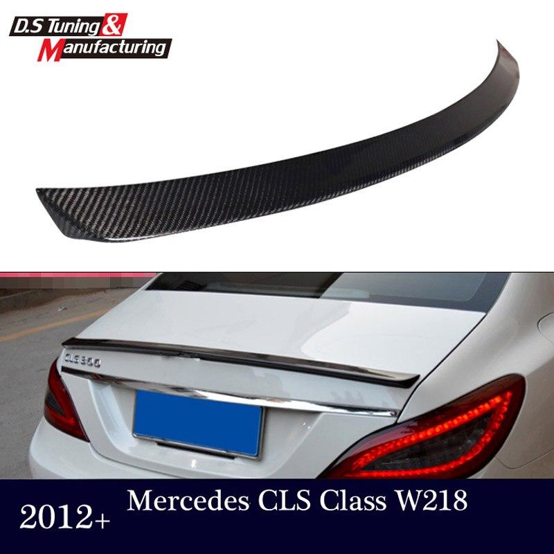 Mercedes CLS W218 C218 2012 13 14 15 CF arrière tronc ailes aileron pour benz CLS 280 CLS300 CLS350 CLS500 CLS550