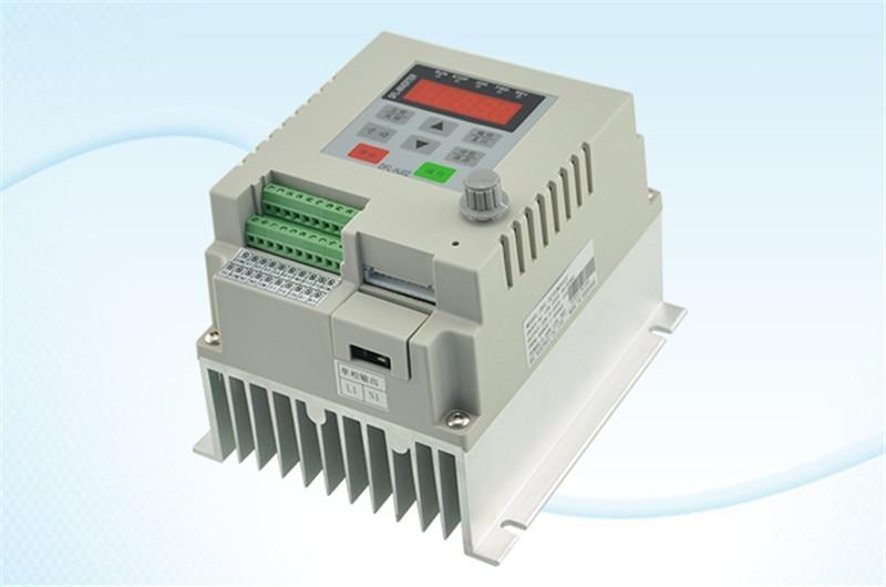 2.2kw 3HP VFD frequenzumrichter 1 phase 220VAC eingang 1 phase 0-220 V ausgang 10A 20-50 hz für Fan pumpe monophase motor