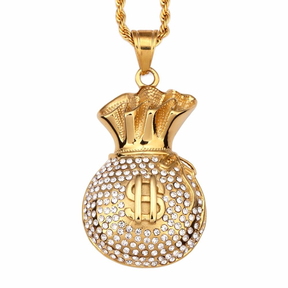 Goldkette dollar  Online billig bekommen Dollar Zeichen Anhänger -Aliexpress ...