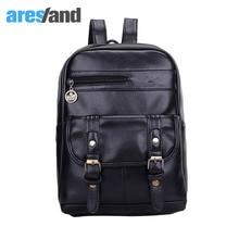 Aresland стильный искусственная кожа рюкзак для женщин мужчины подросток круто сумка дорожная сумка большой площади молнию сумки