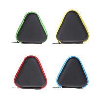 Triangle Square EVA Finger Toy Dustproof Case Portable Anti Scratch Storage Protect Box for Hand Toys Earphones Cables