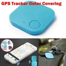 GPS Tracker Kids Pets Wallet Keys Alarm Locator Realtime Finder Device Outer Cov Blue Red Locator housing Mini Tracker @16(China)