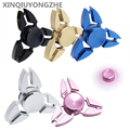 Hot Selling High Quality EDC Toys Triangular Hand Spinner orqbar Metal Professional Fidget Spinner Autism and ADHD Gifts For Kid