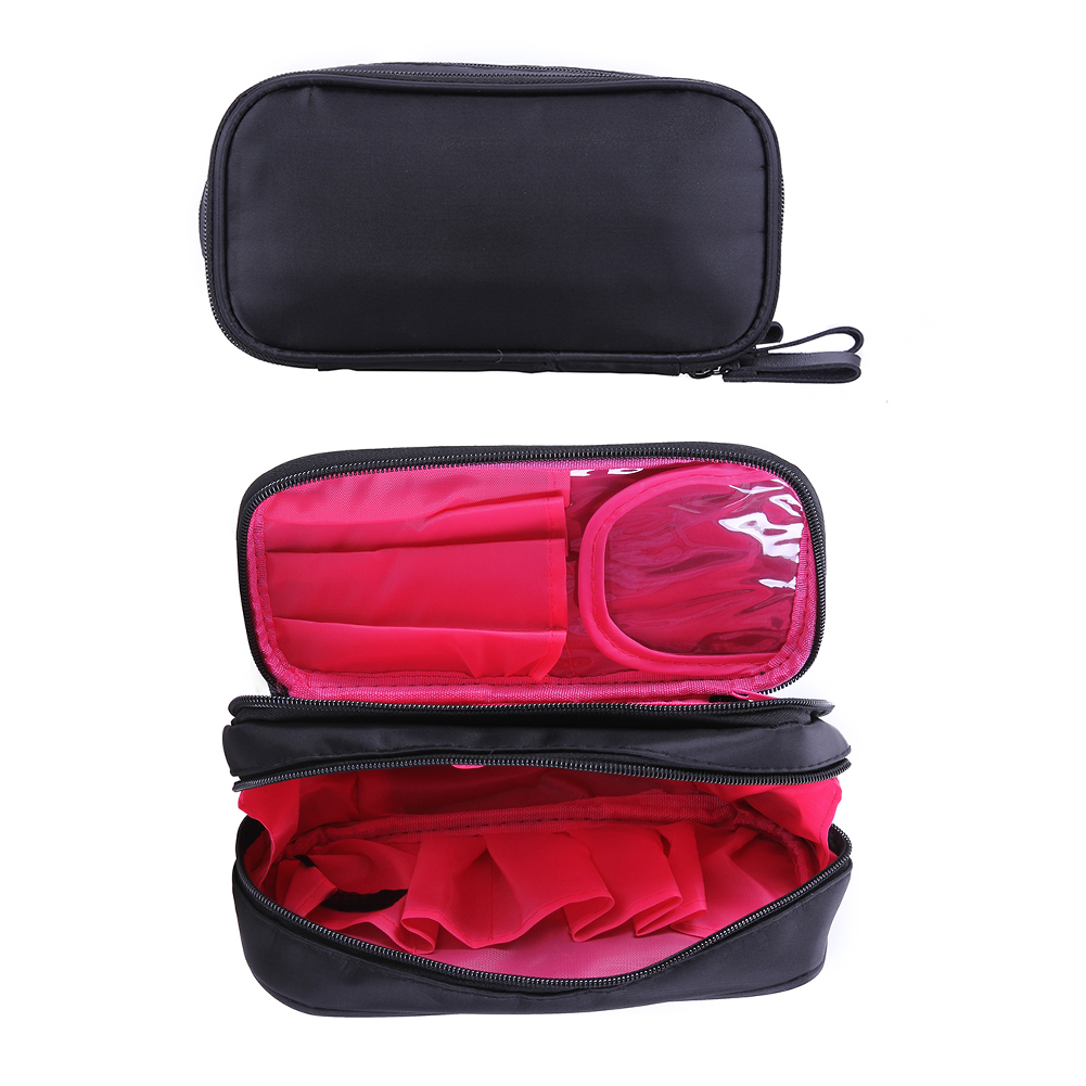 Cosmetic Bags Makeup Bag Women Travel Organizer Professional Storage Brush Necessaries Make Up Case Beauty Toiletry Bag hdwiss fashion toiletry bag women cosmetic bags necessaries makeup organizer make up case cb015