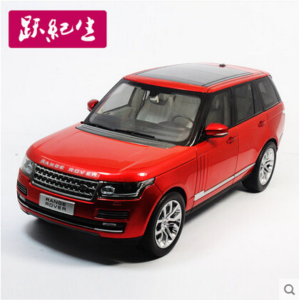 Hot sale New Range Rover 1:18 WELLY GTA SUV alloy car models Wheelbase Off-road vehicle Limited Collection Luxury cars Kids toy