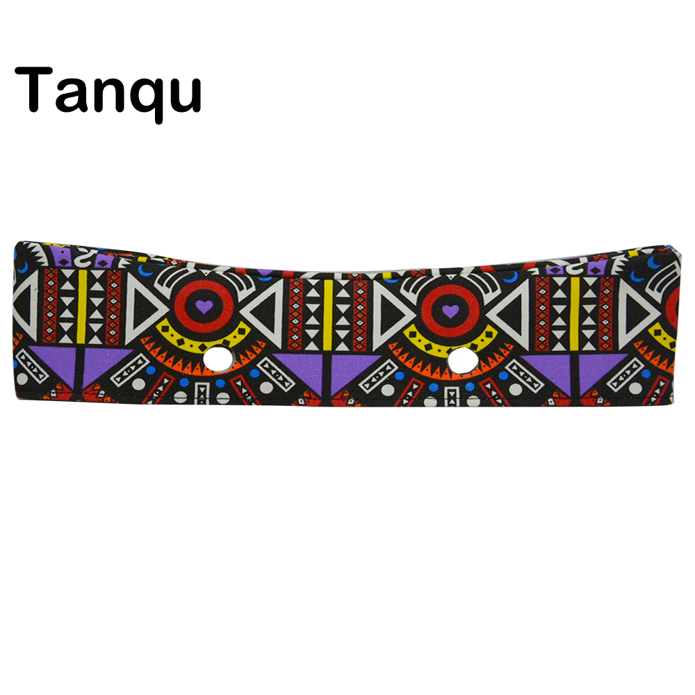 TANQU New Colorful Classic Floral Fabric Trim cotton fabric Decoration for Classic big Obag Handbag O Bag standard Body недорго, оригинальная цена