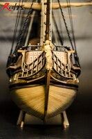 RealTS Model ship kits 1/48 scale Black Pearl model ship kit large scale wood ship kit