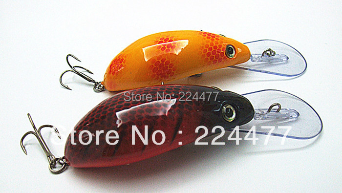 7 5cm 15g lip 3cm Suspend type Fishing Lures Fishing Tackle Hard Plastic Bait Mouse shape