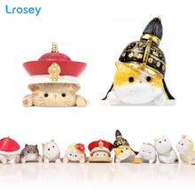 Chinese Forbidden City cat Mini ornaments home decor feng shui DIY house fairy garden miniatures decoracion hogar craft toys