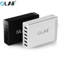 OLAF Hot Universal Multi Carregador Dual USB Carga Rápida 6 Portas Home Da Parede Carregador para Samsung Para iPhone iPad & More PC USB carregador
