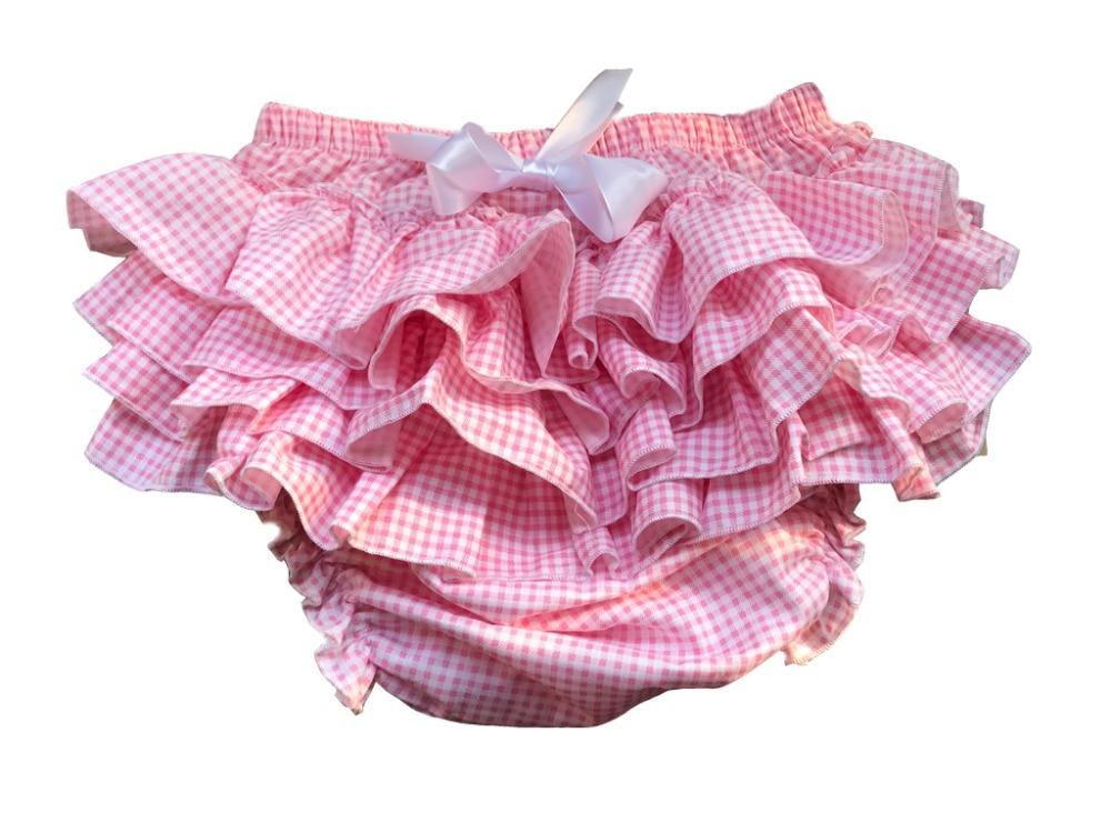 Haian ABDL PVC & Print Cotton Ruffle Rhumba Pull on Plastic Pants / FMP04-2 rabbit print ruffle trim tee