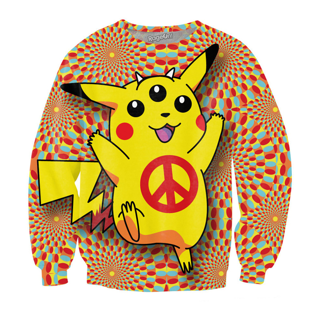 Pokemon Women/Men Anime Print 3D Sweatshirt