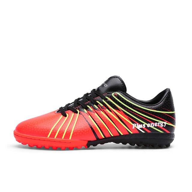 Hombres Profesionales Zapatos de Fútbol Turf Futsal TF Botas de Fútbol de  Usar-Resistencia Listones cabe5ab39acb3