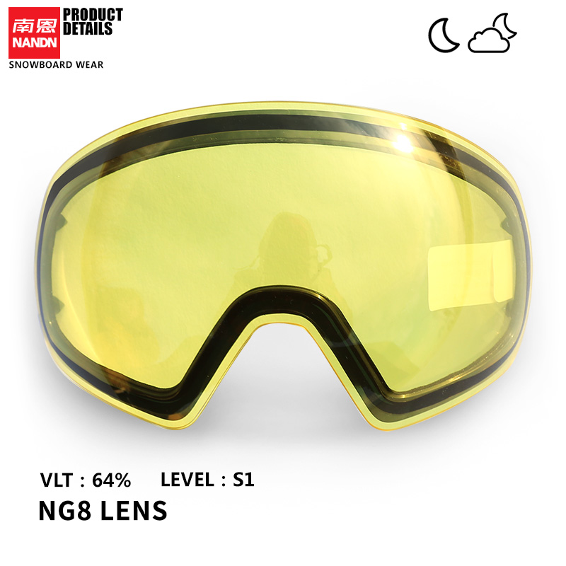Ski Lens Lens Replacement Lens Original Multi Color Coating For NG8