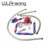 WLRING-Universal auto fpr AN6 Fittings EFI brandstofdrukregelaar Voor 7 MGTE MKIII met slang lijn. Fittings. Gauge WLR7843WL