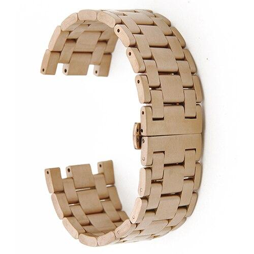 b03b65f02d2 Dropwow 28mm Stainless Steel Watch Band for AP Audemars Piguet Royal ...