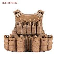 Амфибия Военный Тактический Боевой страйкбол Molle пуля штурмовая пластина Перевозчик жилет