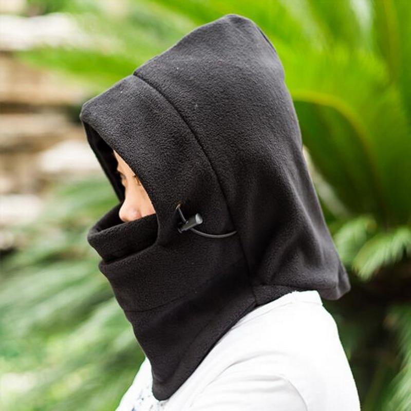 2017 New LASPERAL Face Mask Thermal Fleece Balaclava Women Men Hood Wind Winter Stopper Beanies Outwear Hat Female For Bike