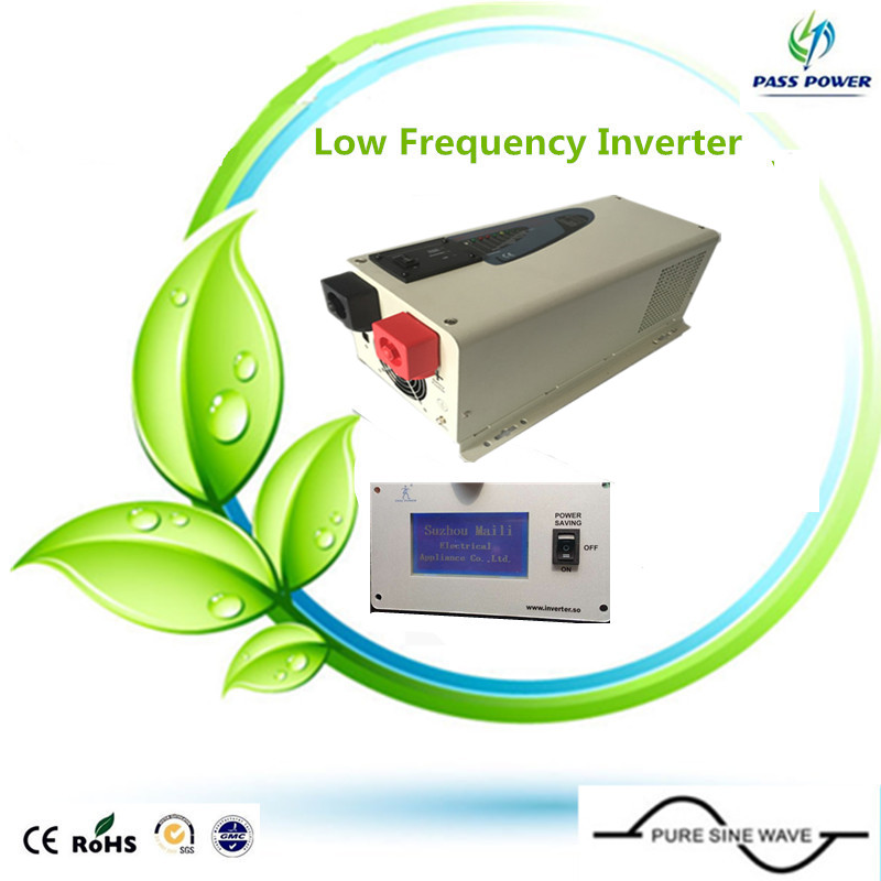Free Shipping, Power Inverter 3000W Pure Sine Wave Inverter DC 12V to AC 220V Car Inverter Solar Power Inverter Peak Power 6000W