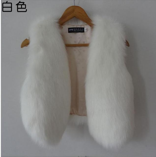 Free Shipping Women Sleeveless Spring And Winter Casual Rabbit Fur Vests Ladies Faux Fox Fur Sleeveless Jacket Waistcoats J1380