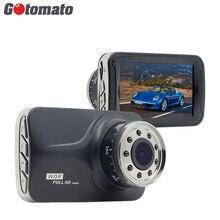 Gotomato 9 ИК фары хорошее Ночное видение Видеорегистраторы для автомобилей с Новатэк 96223 чип 1920*1080 P WDR G-Сенсор HDMI регистраторы видео Регистраторы