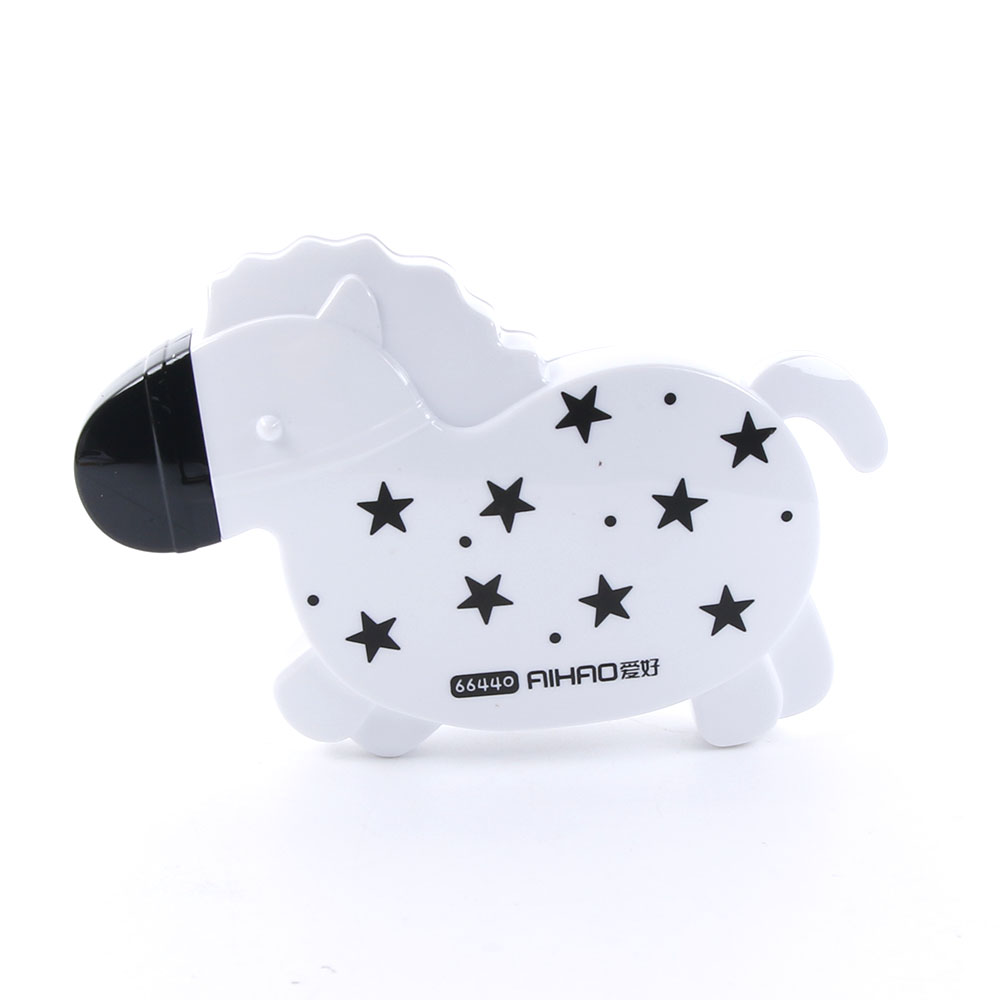 1 Pc Kawaii Cute Black White Horse Correction Tape Correction Fluid Stationery Student Gift School Corrector Supplies