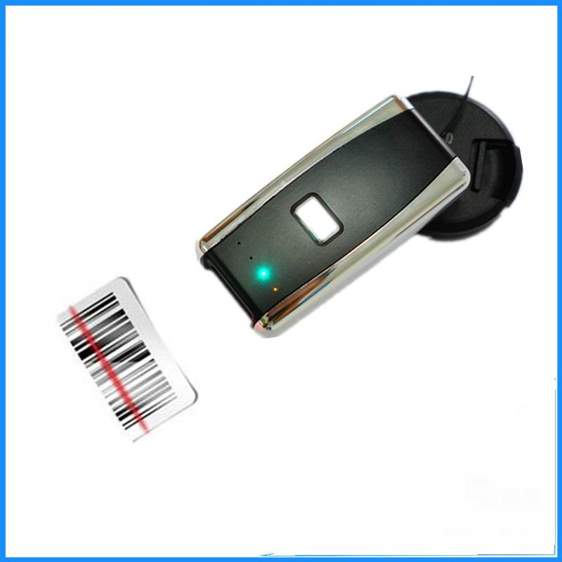 Free shipping  Bluetooth Barcode Scanner Portable Laser 1D Bar Code Reader for Android and ios iphone free shipping wireless code barcode laser scanner reader long distance induction charger new