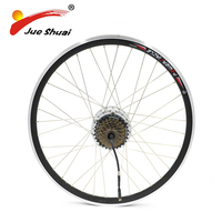 20 26 700C motor wheel electric bike 36V 250W brushless motor Electric Bicycle conversion kit With 6 or 7 Speed Cassette