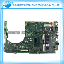 For ASUS S301LA latop motherboard integrated REV2.2 i7-4500CPU REV2.2 S301LA mainboard fully tested