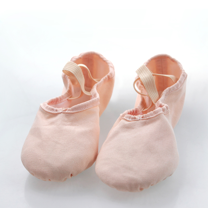 Show details for Women Professional Canvas Ballet Dance Shoes Soft Cow Leather Sole Chlidren Ballet Shoes Yoga Shoes Modern Dance Shoes Girls