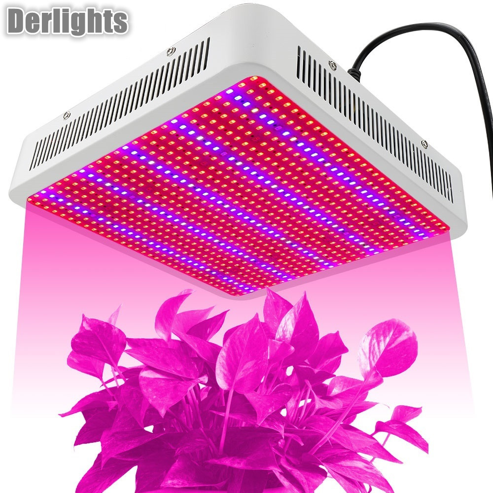 Grow Box Grow Led 800W Indoor Plants LED Lamps Indoor Red Blue White UV IR for Hydroponics Grow Tent Plants Flowers 4pcs lot 72leds 216w full spectrum led grow light ac85 265v ufo led plant lamp red blue uv ir indoor grow tent lighting
