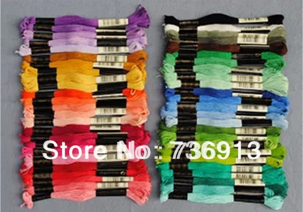 Embroidery Floss Thread Cross Stitch Thread Floss Total 447 Pieces Choose Any Colors