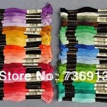 Шелковые вышивальные нити/нить для вышивки крестом/всего 447 штук/Выберите любой цвет