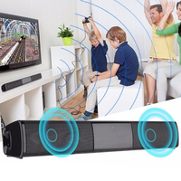 Wireless Bluetooth Sound Bar Bluetooth Wireless Speaker Sound Bar For TV 3D Stereo Surround Soundbar For Computer ZT1813