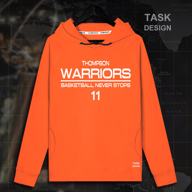 c7954d1e534bc Klay Thompson Golden State USA basketballer gwiazda swetry bluzy bluza  Warriors ubrania sportowej streetwear dres
