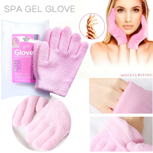 Reusable Spa Gel Gloves Natural Essential Therapy Moisturizing Hands Ca
